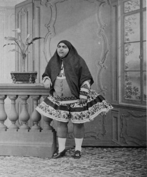 Princess Qajar was considered the ultimate symbol of beauty in Persia during the early 1900s. So much in fact, a total of 13 young men killed themselves because she rejected their love.: Princess Qajar was considered the ultimate symbol of beauty in Persia during the early 1900s. So much in fact, a total of 13 young men killed themselves because she rejected their love.