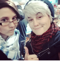 Cute, Omg, and Target: princesscaiters:  theconfusedartist:  Date night with Roddy! He was late this time…. fashionably late. #hetalia #pruaus #cosplay #sogay  you guys are so cute omg. perfect