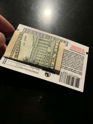 "A gentlemen who always comes to my work to play pinball and orders a coke with extra ice, gave me this and greeted me with ""happy holidays"" I just want everyone to know what a kind and generous man he is.: Print Name (One Person Only)  Daytime Phone  SCRATCHERS®  calotterv@  35975 21383  Odds of winning any prize 1:4  Prizes in this game range from  • Prizes of $599 or less can be redeem  • Claim prizes of $600 or more by com  • Deadlines: Claim all prizes no later the  See a Lottery Retailer or visit calotter  · After game start, some prizes, includi  For another way to win prizes, submit  app or at calottery.com/2ndChance. M  Lottery Information: 1-800-LOTTERY  • Must be 18 years or older to purchas  • Play responsibly. Problem Gambling  LOTTERY PROCEEDS AID EDUCATION  SCAN FRONT BARCODE  FOR VALIDATION AND  2ND CHANCE ENTRY  U.S.TRE  NO  law, state law,  ade in Canada.  DSTA A gentlemen who always comes to my work to play pinball and orders a coke with extra ice, gave me this and greeted me with ""happy holidays"" I just want everyone to know what a kind and generous man he is."