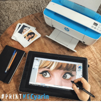 Working on another drawing of one of the entries for the HP collaboration with the DeskJet 3720 💙 This is your last chance to send me your pictures to create the raddest piece of art together and maybe even get sketched by me! (only on instagram; www.instagram.com/cyarine) Only a couple of days left until the live event so let's spread the word around for the #printmecyarin exhibition~ There are unfortunately no more tickets left to attend, but be sure to check out the live stream!:  #PRINTME  O Working on another drawing of one of the entries for the HP collaboration with the DeskJet 3720 💙 This is your last chance to send me your pictures to create the raddest piece of art together and maybe even get sketched by me! (only on instagram; www.instagram.com/cyarine) Only a couple of days left until the live event so let's spread the word around for the #printmecyarin exhibition~ There are unfortunately no more tickets left to attend, but be sure to check out the live stream!