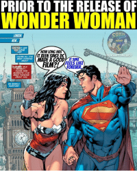 Love, Meme, and Memes: PRIORTO THE RELEASE OF  WONDER WOMAN  COMIC  LONDON  LOVE  HOW LONG HAS  UNCA  QUEST  YOURE ALL TVE  IT SURE  REVER.  MOMENT  THOSE FEN  MOMENTS--IVE  BEEN  ABOUT WOU Take a deep breath. CALM DOWN! I'm a fan of the DCEU and Man of Steel is one of my all time favorites. This is just a meme so calm down. I repeat THIS IS JUST A MEME 😂