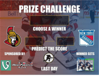 ROUND 2 GIVEAWAY! Guess the score and follow ⬇️ to qualify! @xHockeyProducts, @UltimateHockeyFanCave @twig_heaven @hockeywraparound anaheimducks Edmonton oilers playoffhockey: PRIZE CHALLENGE  CHOOSE A WINNER  NEW YORK  PREDICT THE SCORE  WINNER GETS  SPONSORED BY  xHocKEXPRODUCTscoM  LAST DAY ROUND 2 GIVEAWAY! Guess the score and follow ⬇️ to qualify! @xHockeyProducts, @UltimateHockeyFanCave @twig_heaven @hockeywraparound anaheimducks Edmonton oilers playoffhockey