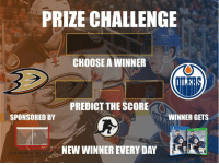 ROUND 2 GIVEAWAY! Guess the score and follow ⬇️ to qualify! @xHockeyProducts, @UltimateHockeyFanCave @twig_heaven @hockeywraparound anaheimducks Edmonton oilers playoffhockey: PRIZE CHALLENGE  CHOOSE WINNER  PREDICT THE SCORE  WINNER GETS  SPONSORED BY  NEW WINNER EVERY DAY  ULTIMATE HDD ROUND 2 GIVEAWAY! Guess the score and follow ⬇️ to qualify! @xHockeyProducts, @UltimateHockeyFanCave @twig_heaven @hockeywraparound anaheimducks Edmonton oilers playoffhockey