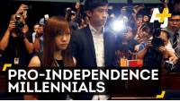 Memes, China, and Millennials: PRO-INDEPENDENCE  MILLENNIALS China doesn't want these millenials in the Hong Kong government. Here are five things you need to know: