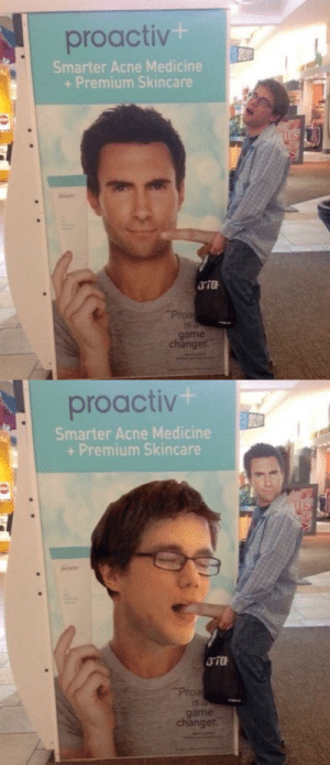 Target, Tumblr, and Face Swap: proactiv .  Smarter Acne Medicine  + Premium Skincare  Proa  game  changer   proactiv  Smarter Acne Medicine  + Premium Skincare  Proa  game  changer. commongayboy:  The only face swap that matters