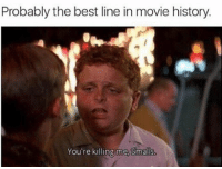 Memes, Goat, and 🤖: Probably the best line in movie history.  You're killing me. Smalls GOAT ⚾️🐐💯