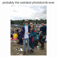 """Memes, Photobomb, and Wtf: probably the weirdest photobomb ever Ya'll was prolly thinking """"wtf how he fit his whole hand in his mouth"""" 😂 @savagememesss"""
