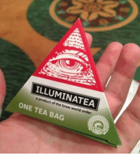 Memes, 🤖, and Tea: product the A  of brew world order  ONE TEA BAG