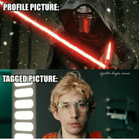 I was told I could post a Star Wars meme so I'm posting a Star Wars meme. ~Green Arrow: PROFILE PICTURE:  (Djustice.teague. #.c tees  TAGGED PICTURE: I was told I could post a Star Wars meme so I'm posting a Star Wars meme. ~Green Arrow