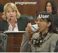 Software, User, and Using: programmer  User Programmer watching a User while using the Software