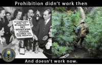 Crime, Memes, and Alcohol: Prohibition didn't work then  IN COMPLIANCE  WITH THE  AMENDMENT  NO  INTOXICATING  LIQUOR  ALLOWED ON  THE PREMISES  LIBERD  And doesn't work now On this day in 1919 the 18th Amendment was ratified. This began the prohibitionism of alcohol, which subsequently also led to the rise of organized crime.