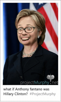 project Murphy net  what if Anthony fantano was  Hillary Clinton?  Project Murphy OC