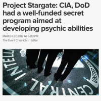 Project Stargate CIA DoD Had a Well-Funded Secret Program