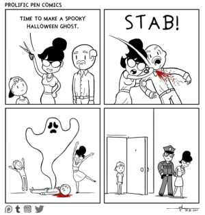 omg-images:  How to make a spooky halloween ghost: PROLIFIC PEN COMICS  TIME TO MAKE A SPOOKY  HALLOWEEN GHOST  0  10. 11 2017 omg-images:  How to make a spooky halloween ghost
