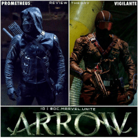 Hype, Memes, and Arrow: PROMETHEUS  RE VIE W THE ORY  I G I da DC. MARVEL UNITE  VIGILANTE ARROW SPOILERS ! ⚠️ So Last Nights Epsidoe of Arrow had the Big Prometheus Reveal ! And it runs out AdrianChase could possibly be The Villain 'PROMETHEUS' ! Let's be honest, we all thought he was for sure Vigilante. But I'm sure Adrian Chase isn't even his real name, but Bravo to him for keeping it cool with OliverQueen as his DA, he never expected a thing. But if he really is Prometheus, which I hope there's a Plot Twist where he's not…The Real Question Now is…WHO IS THE VIGILANTE !? Comment Below your Thoughts and Theories Below ! ArrowSeason5 🏹 DCTV HYPE ! 💥