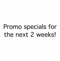 2 week specials! Dm for info. Serious inquiries only!: Promo specials for  the next 2 weeks! 2 week specials! Dm for info. Serious inquiries only!
