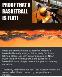 Basketball Is Flat