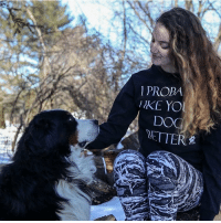 Memes, 🤖, and Dog: PROPA  DO  RETTER  PAW Thanks @ally6866 for the support in our I probably like your dog better shirt!
