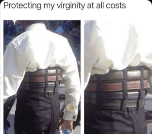 No one is allowed to touch my virginity.: Protecting my virginity at all costs No one is allowed to touch my virginity.