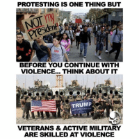 America, Facebook, and Family: PROTESTING IS ONE THING BUT  BEFORE YOU CONTINUE WITH  VIOLENCE... THINK ABOUT IT  TRUMP  NAKE AMERICA GREAT VETERANS & ACTIVE MILITARY  ARE SKILLED AT VIOLENCE 💀 Why are illegal immigrants protesting saying not our president? Amazed they wrote it in English 😲Yeah dumbasses you are illllleeggallllllleeeeeesss .. he ain't your presidente pendejos.. you are also not our citizens 😂😂😂 👊💀👍 UncleSamsMisguidedChildren 💀 Check out our store. Link in bio. 💀 LIKE our Facebook page 💀 Subscribe to our YouTube Channel 💀 Visit our website for more News and Information. 💀 www.UncleSamsMisguidedChildren.com 💀 Tag and Join our Misguided Family @unclesamsmisguidedchildren Use code USMCNATION10 for 10% off MisguidedLife MisguidedNation USMCNation Apparel ProGun 2A Tactical MAGA BackTheBlue donttreadonme patriotic Gun Ammo 1775 USMC us 0311 army navy Grunt Veterans K9 veteran pewpew murica merica america usa