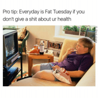 "Memes, 🤖, and Fat Tuesday: Protip: Everyday is Fat Tuesday if you  don't give a shit about ur health I wonder who can comment ""SAVAGE"" letter by letter without being interrupted😂👇🏽😂👇🏽😂"