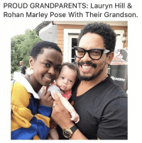 Lauryn is one of the best of our time :) @olmecian: PROUD GRANDPARENTS: Lauryn Hill &  Rohan Marley Pose With Their Grandson. Lauryn is one of the best of our time :) @olmecian