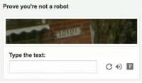 Prove Youre Not A Robot