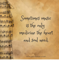 Memes, 🤖, and D&d: prt staccato  Sometimes music  is the only  medicine the heart  and soul need  tiny b u d d h a c o m Tag friends Check out all of my prior posts⤵🔝 Positiveresult positive positivequotes positivity life motivation motivational love lovequotes relationship lover hug heart quotes positivequote positivevibes kiss king soulmate girl boy friendship dream adore inspire inspiration couplegoals partner