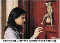 witnessed: PrzAm com  How to keep Jehovah's Witnesses from knocking