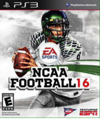 Retweet if you would've bought it 👌🏈: PS3  Playstation Network  SPORTS  NCAA  FOOTBALL  16  VERYON  FEATURINa Retweet if you would've bought it 👌🏈