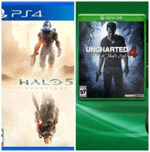 Ps4 Xbox One Uncharted Athief S End Halo 5 Guar Dians Rp Naughty Dog Fair Trade Ps Gets Halo 1 5 Xbox Gets Uncharted 1 4 Halo Meme On Me Me