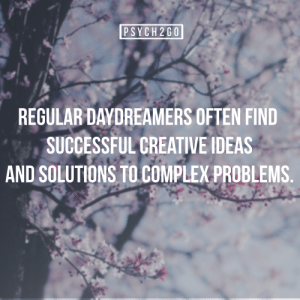 Complexness: PSYCH 2G  REGULAR DAVDREAMERS OFTEN FIND  SUCCESSFUL GREATIVE IDEAS  AND SOLUTIONS TO COMPLEX PROBLEMS