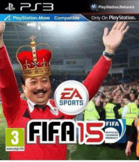 Sneak peak at FIFA 15...: PTB  Playstation-Network  PlayStation Move Compatible  Only On PlayStation  A SPORTS  FIFA  FIFA Sneak peak at FIFA 15...