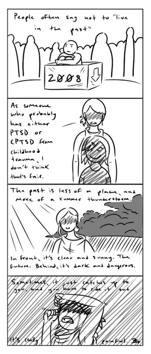 Tumblr, Blog, and Been: PTSD or  CPTSD form sikizu:  I was going to add more, but even this much wore me out. This past month has been rather difficult and yes, painful. One big 'ol maelstrom.Be kind to others, guys.