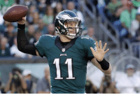UPDATE: Wentz has cleared concussion protocol and has returned to the lineup. BREAKING NEWS: Eagles quarterback Carson Wentz heads to the locker room after being thrown to the ground by Giants defensive end Olivier Vernon and will undergo concussion protocol. Back up Chase Daniel has entered the game for Philly. NFL updates Eagles Giants: pu때  11 UPDATE: Wentz has cleared concussion protocol and has returned to the lineup. BREAKING NEWS: Eagles quarterback Carson Wentz heads to the locker room after being thrown to the ground by Giants defensive end Olivier Vernon and will undergo concussion protocol. Back up Chase Daniel has entered the game for Philly. NFL updates Eagles Giants