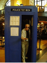 Memes, Stan, and Stan Lee: PUBLIC  BOX  CALL Stan Lee has the TARDIS..... Your argument is invalid