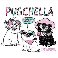 Made this lil' illo for @lapugmeetup - they're having a Pugchella fest this Saturday! 🌸🌺🌼 (ps. I won't be there - I'll be at Southern Kentucky Book fest!) pugchella2017: PUGCHELLA  2017  GEMMA CORRELL  L.A. PUG MEETUP Made this lil' illo for @lapugmeetup - they're having a Pugchella fest this Saturday! 🌸🌺🌼 (ps. I won't be there - I'll be at Southern Kentucky Book fest!) pugchella2017
