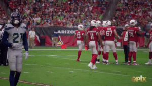 Only @JerryRice has more career catches than @LarryFitzgerald.  And Jerry was on the field to watch Fitz move into second place all-time. 👏  📺: #NFLTheGrind on @EPIXHD https://t.co/U5lsfK6Jmi: PUGH  ARIZOL  9ZGERALD  67  13 11  74  21  epix Only @JerryRice has more career catches than @LarryFitzgerald.  And Jerry was on the field to watch Fitz move into second place all-time. 👏  📺: #NFLTheGrind on @EPIXHD https://t.co/U5lsfK6Jmi
