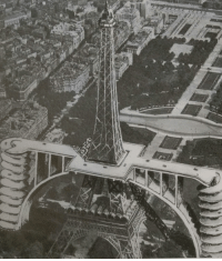 Mario Kart, Tumblr, and Mario: pukicho: unkownknowledge:   pukicho:  I like this 1936 car ramp concept for the Eiffel Tower mostly because I enjoy the concept of real-world hell  There arnet any gaurd rails. What mario kart bullshit is this   Its rainbow road except with baguettes and disaster