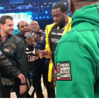 They were betting $4K on Meek Mill's shot! 🏀💵😳 @MeekMill https://t.co/hiHDojlVhz: PULL  Lf  FRICAN  NERICAN  OLLEGE  ALIANCE They were betting $4K on Meek Mill's shot! 🏀💵😳 @MeekMill https://t.co/hiHDojlVhz