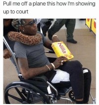Fam, Funny, and Soon...: Pull me off a plane this how lm showing  up to court Hope I'm next when I fly using United to go to LA soon, I'm trying to get paid fam.