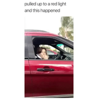 Love, Memes, and 🤖: pulled up to a red light  and this happened I love this 😂 Credit: @leonardolindberg