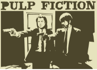 Happy 21st Birthday to the legendary film Pulp Fiction. It was released in theatres 21 years back!: PULP FICTION Happy 21st Birthday to the legendary film Pulp Fiction. It was released in theatres 21 years back!