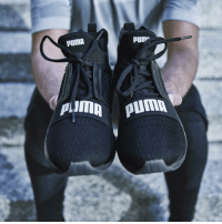 "Memes, Ignition, and Puma: PUMA  PUM"".  PUD!  Almn Puma Made for those whose hustle never stops. The @PUMA IGNITE Limitless dropping son! RunTheStreets"