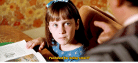 Matilda, Tumblr, and Blog: Punished for being smart? rdj:Matilda (1996) dir. Danny DeVito