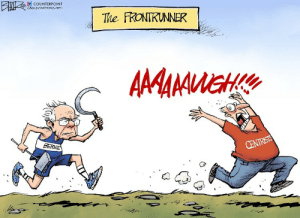 punkphobe: powerburial:  agoodcartoon:  centrists should be hunted for sport. a good cartoon.   get their ass bernie  go grandpa!    Funny thing is he won in Nevada: white men, whites women, conservative Democrats, liberal democrats, centrist democrats, all Latinos, all women, college degree, no college degree, union, non-union. Etc : punkphobe: powerburial:  agoodcartoon:  centrists should be hunted for sport. a good cartoon.   get their ass bernie  go grandpa!    Funny thing is he won in Nevada: white men, whites women, conservative Democrats, liberal democrats, centrist democrats, all Latinos, all women, college degree, no college degree, union, non-union. Etc
