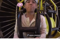 Ride, When, and That: Puppa puppa] that is me when i ride any amusement ride