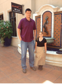 Yao Ming is too tall...: Pure  EXPERIENCE Yao Ming is too tall...