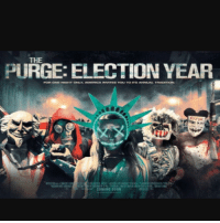 Something about what's going on in politics right now that make me feel like this shit could actually happen. One of the best movies this year.: PURGE: ELECTION YEAR  FORE ONE NOHT ONLY AMERENCA INVETES VOLU TO ITS ANNUAL TRADITION.  COMING SOON Something about what's going on in politics right now that make me feel like this shit could actually happen. One of the best movies this year.