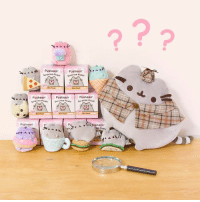 What's that, detective Pusheen? Surprise Plush blind boxes by GUND have arrived at Hey Chickadee! Which one is your favorite? Check them out here: http://www.heychickadee.com/collections/pusheenthecat: Pusheen'  M.  Pusheen  surprise  PUSheen  PUSheen  PUSheen'  surprise plu  surprise  PUSheen' What's that, detective Pusheen? Surprise Plush blind boxes by GUND have arrived at Hey Chickadee! Which one is your favorite? Check them out here: http://www.heychickadee.com/collections/pusheenthecat